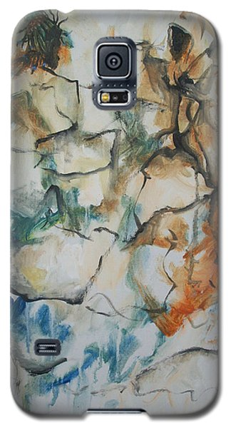 Galaxy S5 Case featuring the painting The Dance by Raymond Doward