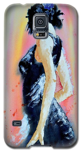 Galaxy S5 Case featuring the painting The Dance by Steven Ponsford
