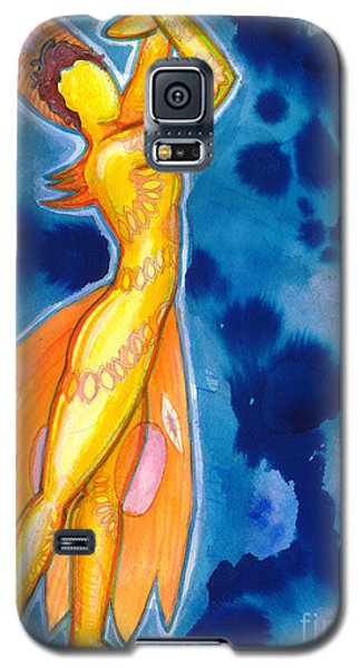 The Dancer Becomes The Dance Galaxy S5 Case