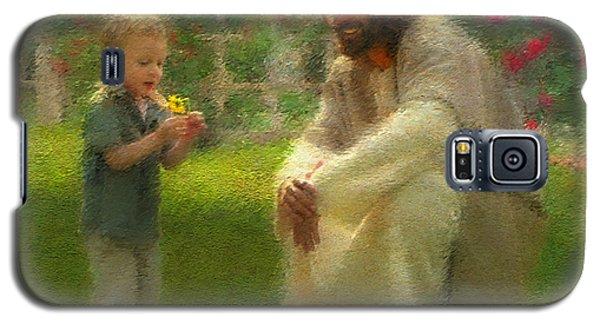 Religious Galaxy S5 Case - The Dandelion by Greg Olsen
