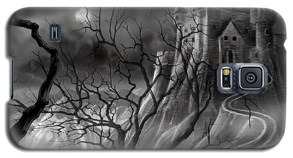 The Dark Castle Galaxy S5 Case by James Christopher Hill