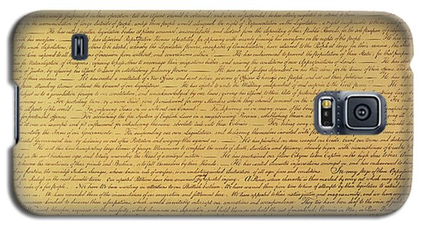 The Declaration Of Independence Galaxy S5 Case