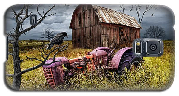 Galaxy S5 Case featuring the photograph The Decline And Death Of The Small Farm by Randall Nyhof
