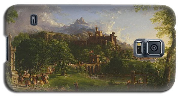 The Departure Galaxy S5 Case by Thomas Cole