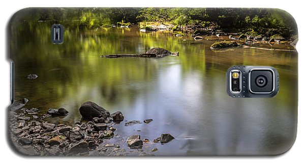Galaxy S5 Case featuring the photograph The Devon River by Jeremy Lavender Photography