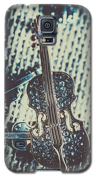 Violin Galaxy S5 Case - The Diamond Symphony by Jorgo Photography - Wall Art Gallery