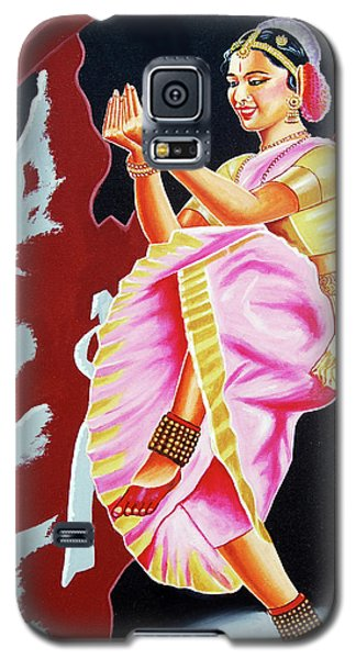 The Divine Dance Of Bharatanatyam Galaxy S5 Case by Ragunath Venkatraman