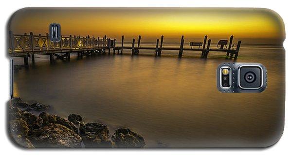 Captiva Sunrise Galaxy S5 Case