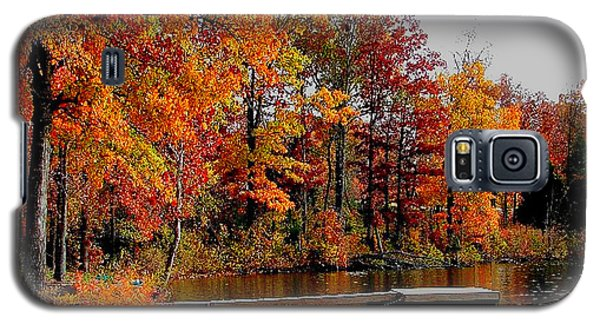 Galaxy S5 Case featuring the photograph The Dock by Rick Friedle