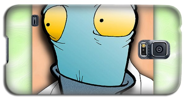 Galaxy S5 Case featuring the digital art The Doctor by Uncle J's Monsters