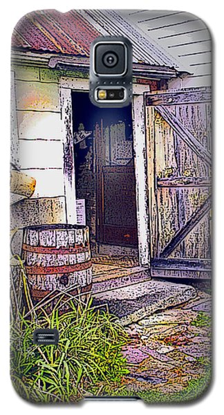 The Door Is Always Open Galaxy S5 Case