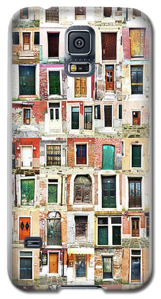 The Doors Of Murano Italy Galaxy S5 Case