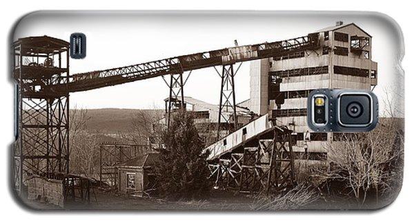 The Dorrance Coal Breaker Wilkes Barre Pennsylvania 1983 Galaxy S5 Case