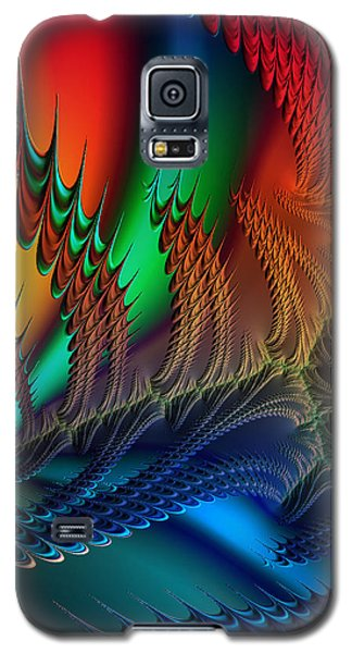 Galaxy S5 Case featuring the digital art The Dragon's Den by Kathy Kelly