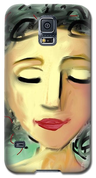 Galaxy S5 Case featuring the digital art The Dreamer by Elaine Lanoue