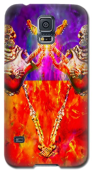Galaxy S5 Case featuring the photograph The Duel by Jeff Gettis