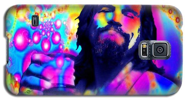 The Dude The Big Lebowski Jeff Bridges Galaxy S5 Case by Tony Rubino