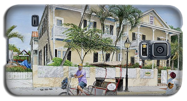 The Duval House, Key West, Florida Galaxy S5 Case by Bob George