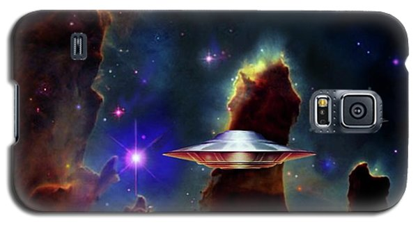 Galaxy S5 Case featuring the digital art The  Eagle  Nebula  by Hartmut Jager