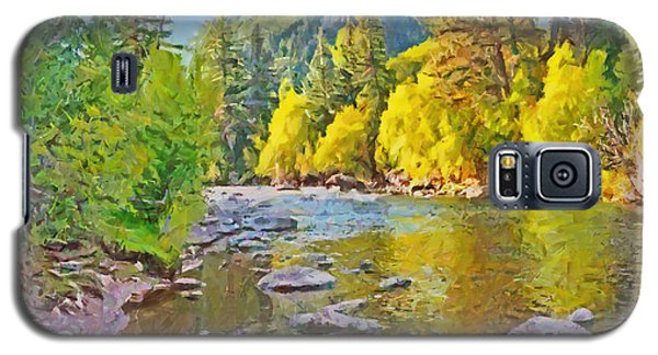 The Eagle River In October Galaxy S5 Case