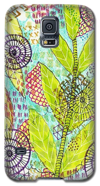 The Earth Dances Galaxy S5 Case by Lisa Noneman