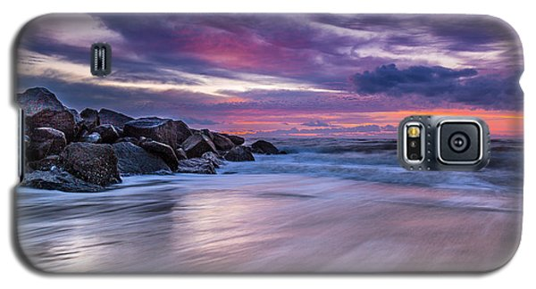 The Edge - Folly Beach, Sc Galaxy S5 Case