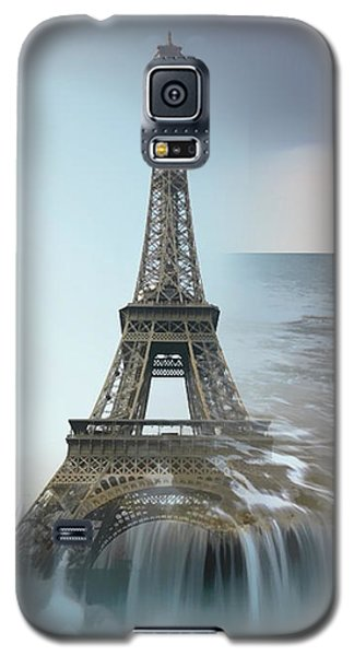 The Eiffel Tower In Montage Galaxy S5 Case
