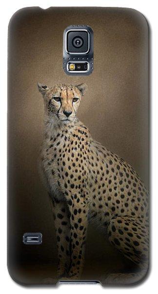 The Elegant Cheetah Galaxy S5 Case