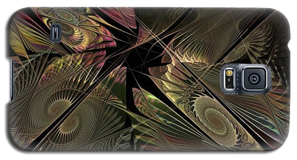 Galaxy S5 Case featuring the digital art The Elementals - Calling The Corners by NirvanaBlues