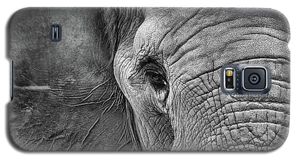 The Elephant In Black And White Galaxy S5 Case