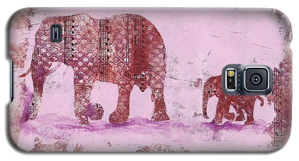 The Elephant March Galaxy S5 Case