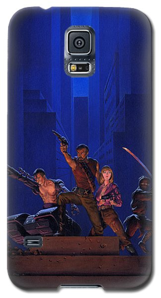 Galaxy S5 Case - The Eliminators by Richard Hescox