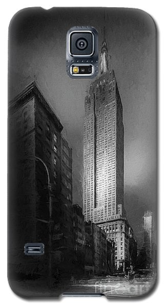 Galaxy S5 Case featuring the photograph The Empire State Ch by Marvin Spates