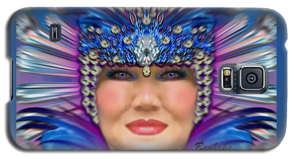 Galaxy S5 Case featuring the photograph The Empress by Barbara Tristan