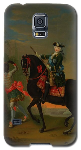 Galaxy S5 Case featuring the painting The Empress Elizabeth Of Russia by Georg Grooth