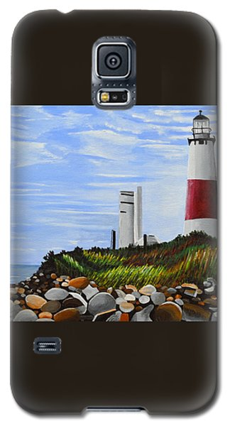 Galaxy S5 Case featuring the painting The End by Donna Blossom