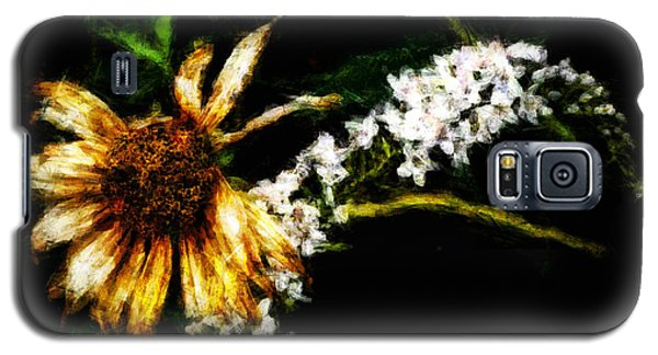 Galaxy S5 Case featuring the digital art The End Of Summer by Cameron Wood