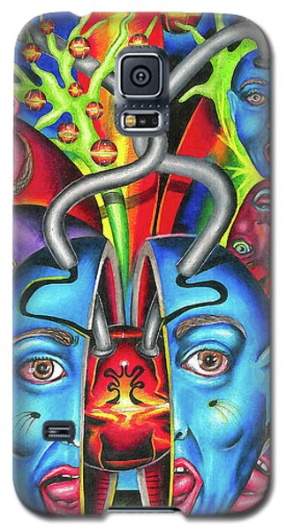 The Esoteric Force Of Molecular Mentality Galaxy S5 Case