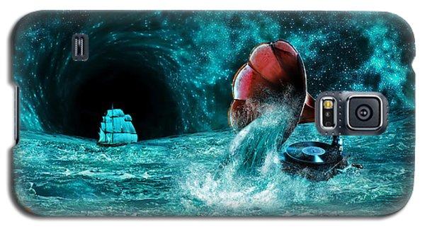 Galaxy S5 Case featuring the digital art The Eternal Ballad Of The Sea by Olga Hamilton
