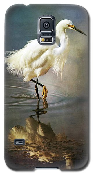The Ethereal Egret Galaxy S5 Case