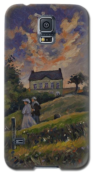 The Evening Stroll Around The Hoeve Zonneberg Galaxy S5 Case