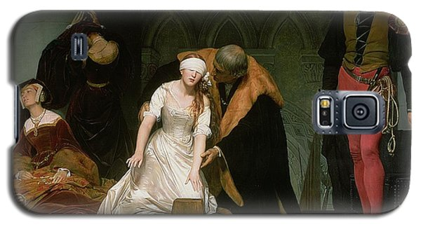 The Execution Of Lady Jane Grey Galaxy S5 Case by Hippolyte Delaroche