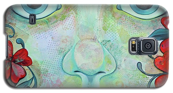School Galaxy S5 Case - The Face Of Persephone I by Shadia Derbyshire