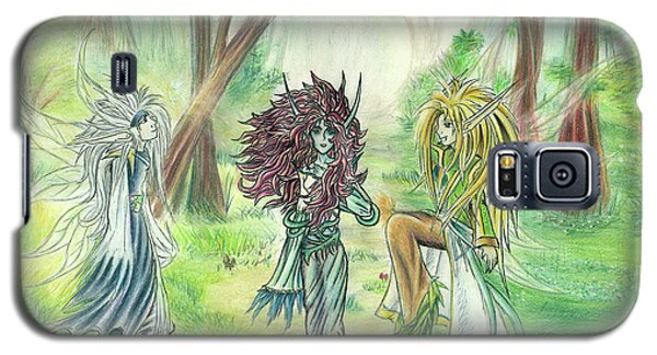 The Fae - Sylvan Creatures Of The Forest Galaxy S5 Case