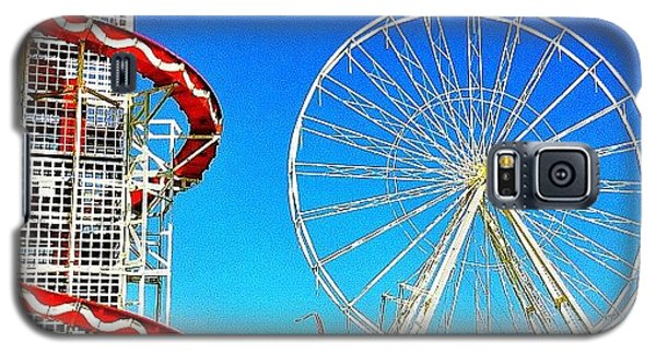 Sunny Galaxy S5 Case - The Fair On Blacheath by Samuel Gunnell