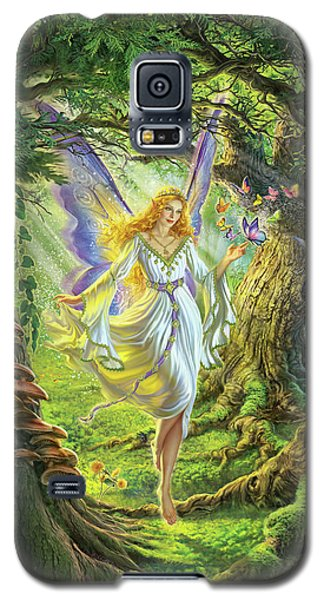 Fairy Galaxy S5 Case - The Fairy Queen by Mark Fredrickson