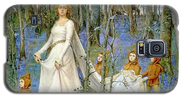Elf Galaxy S5 Case - The Fairy Wood by Henry Meynell Rheam