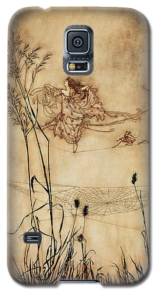 The Fairy's Tightrope From Peter Pan In Kensington Gardens Galaxy S5 Case