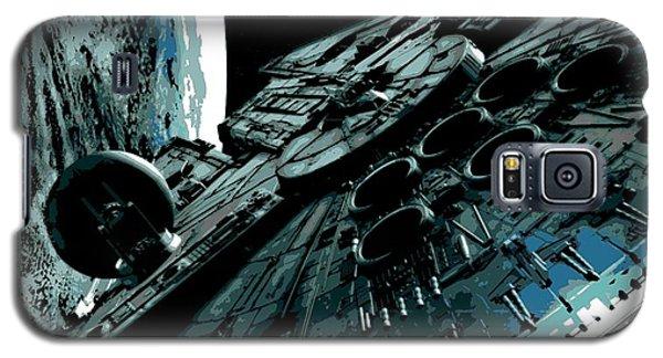 the Falcon Galaxy S5 Case by George Pedro