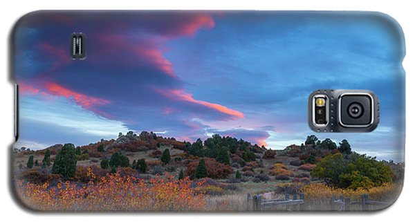 Galaxy S5 Case featuring the photograph The Fall Meadow by Tim Reaves